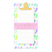 Pastel-Clipboard with to-do's pad