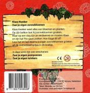 Klaas Kweker Zonnebloem+zaadjes