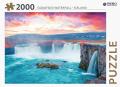 Godafoss waterfall - puzzel 2000 st