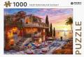 Mediterranean sunset - puzzel 1000