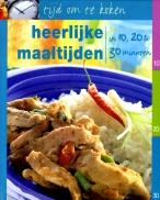 Tijd om te koken-heerlijke maaltijd
