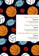 Placemat boek Sports