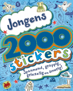 2000 stickers jongens