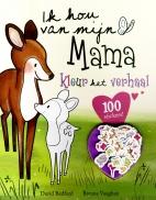 Ik hou van mijn Mama,kleur+stickers