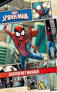 Marvel Spider-man Achter het mask.