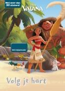 Disney Vaiana Volg je hart+krijtjes