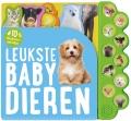 Geluidboek Leukste babydieren 10gel