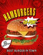 Hamburgers 100 knalrecepten 2edr.