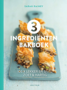 3 ingrediÙnten bakboek