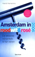 Amsterdam, rood, wit, rose