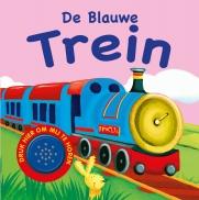 1 geluidboek Blauwe trein
