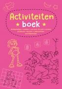 Activiteitenboek roze