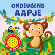 1 geluidboek Ondeugend aapje