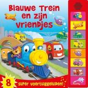 Geluidboek Blauwe trein en vriendje