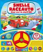 Geluidboek Snelle race auto