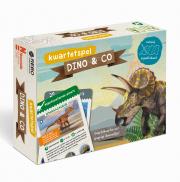 Dinosauriers boek & spel kwartet