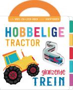 Hobbelige tractor, glanzende trein