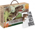 Tyrannosaurus Boek + 3D model