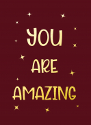 You are amazing - Cadeauboeken