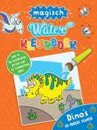 Waterkleurboek Dino's