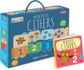 Cijfers - boek + puzzeltrein
