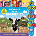 Geluidboek Wat hoor je boerderij