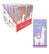 Llama-display tall wiro list pad