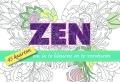 Zen - 45 Kaarten Om In Te Kleuren