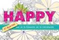 Happy - 45 Kaarten Om In Te Kleuren