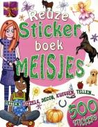Reuzestickerboek meisjes