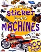 Reuzestickerboek machines