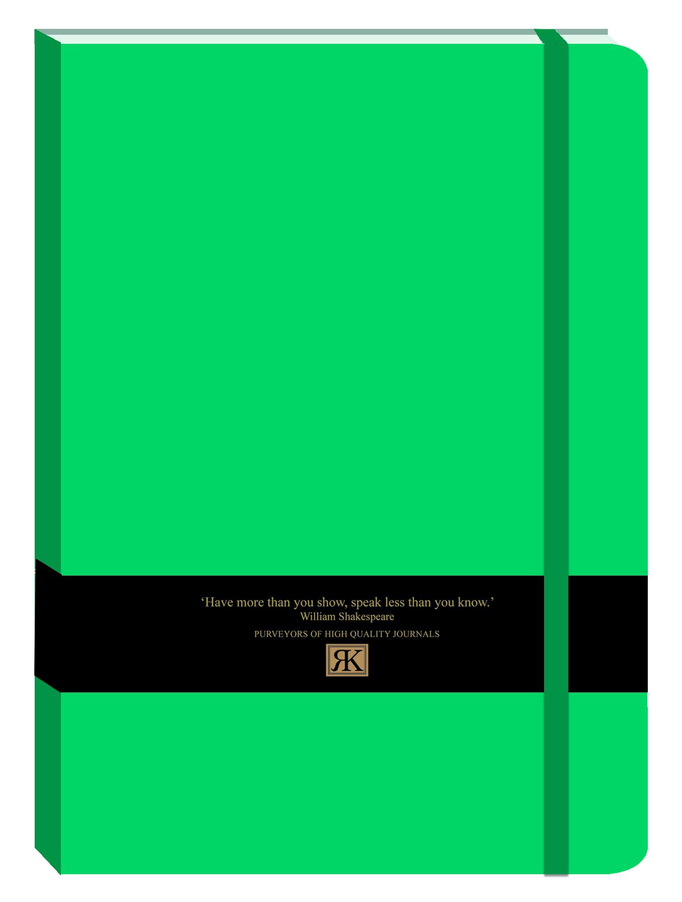 PU Journal large-NB Jade green (bb)