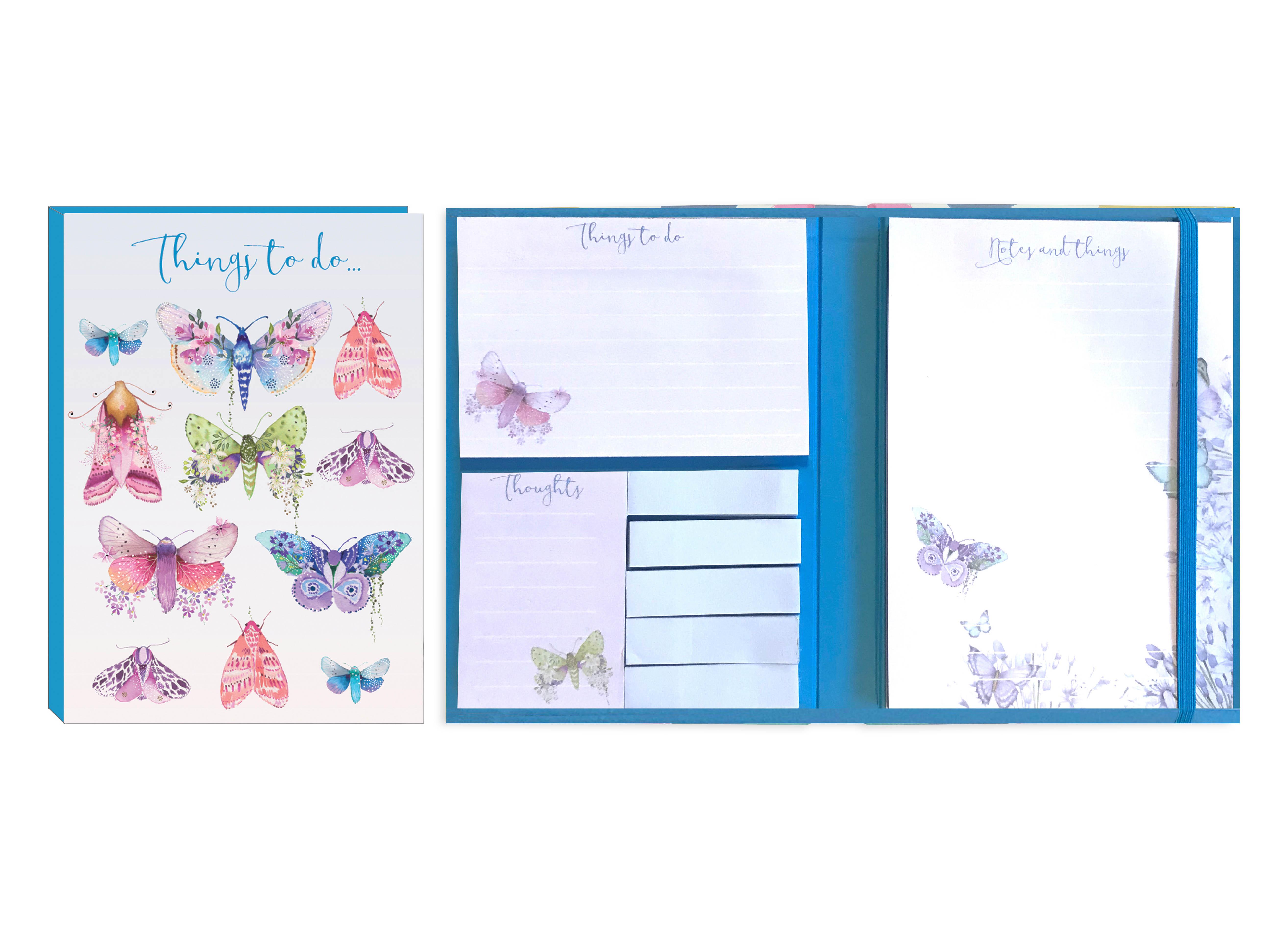 Butterflies-todo st.notes & listpad