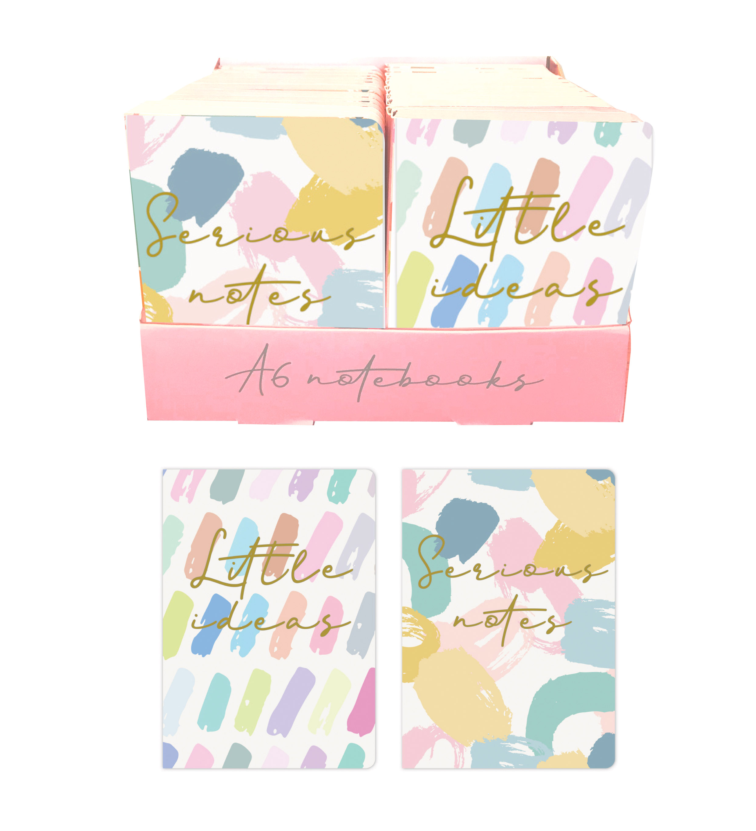 Pastel-display A6 soft cover NB