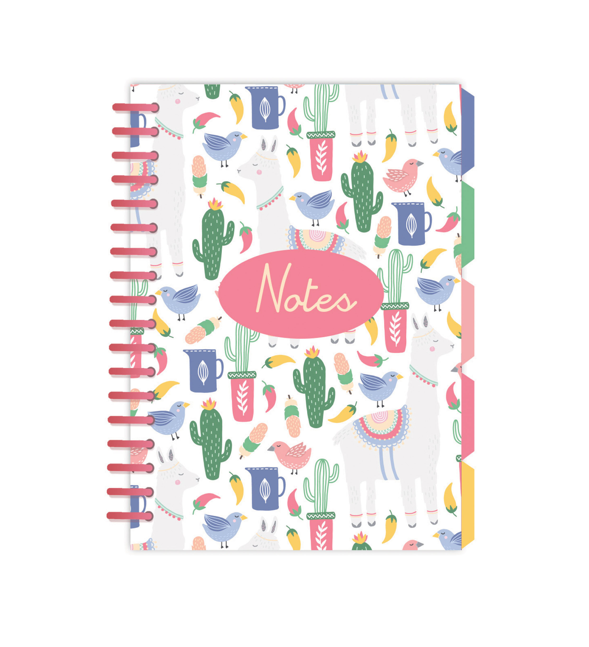 Llama-A5 wiro notebook with divider