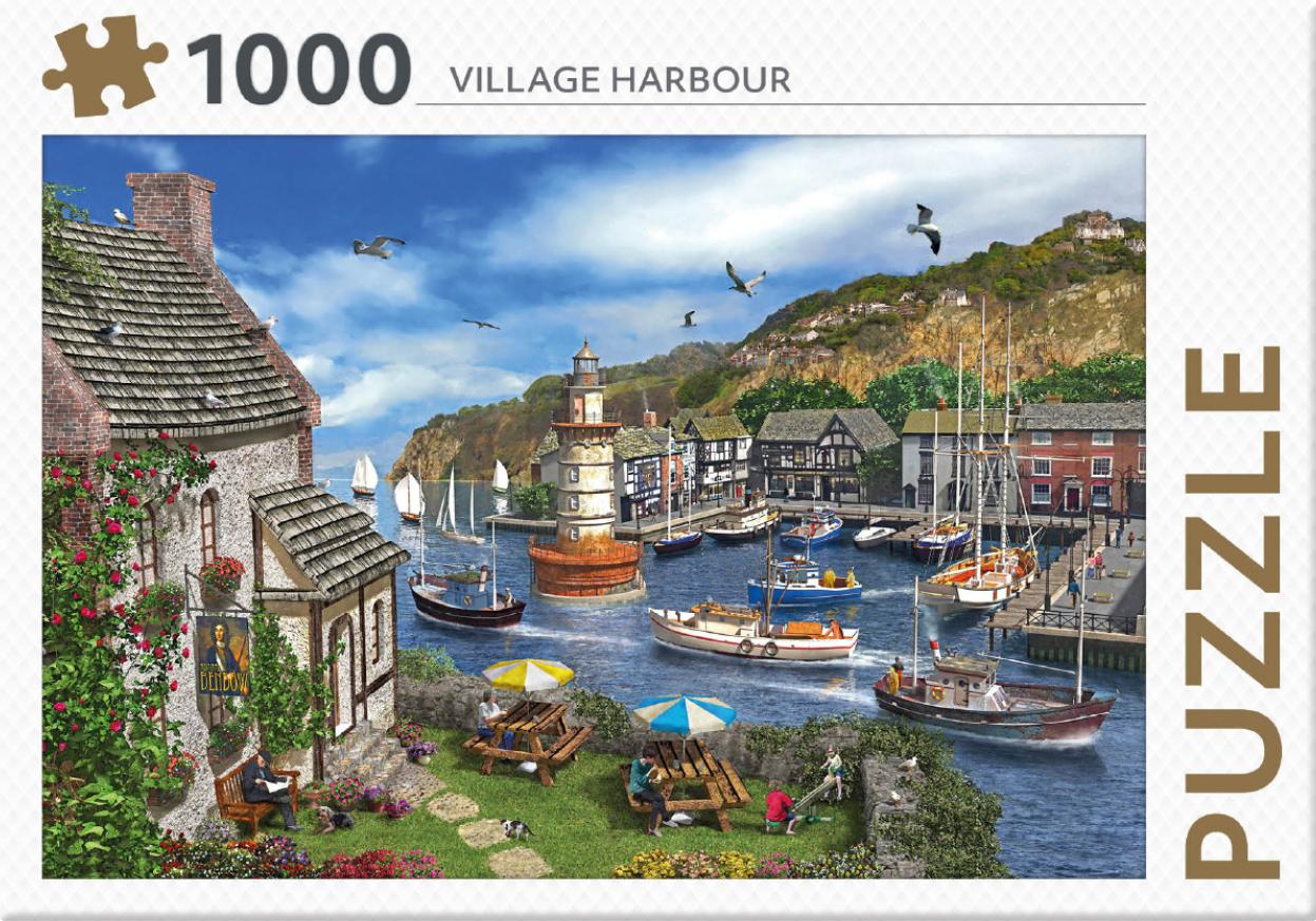 Village Harbour - puzzel 1000 st