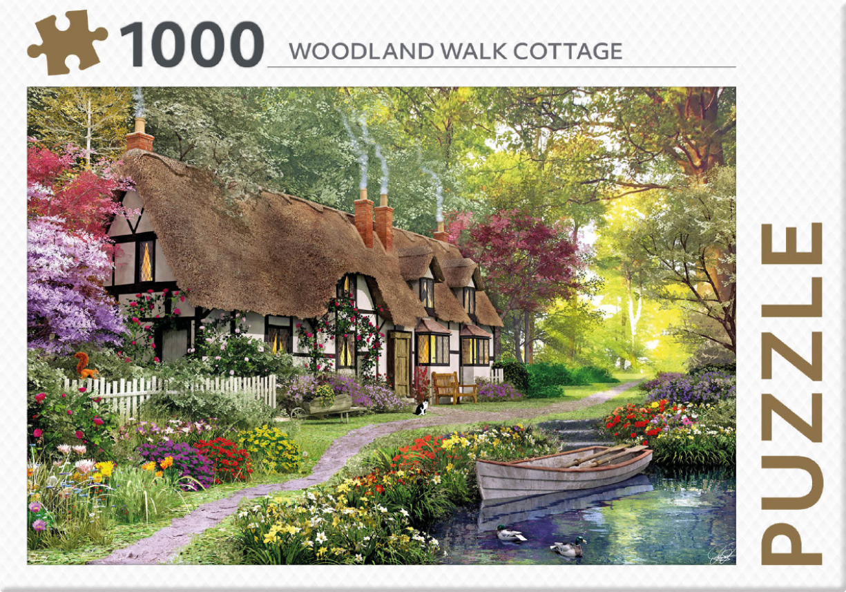 Woodland Walk Cottage - puzzel 1000