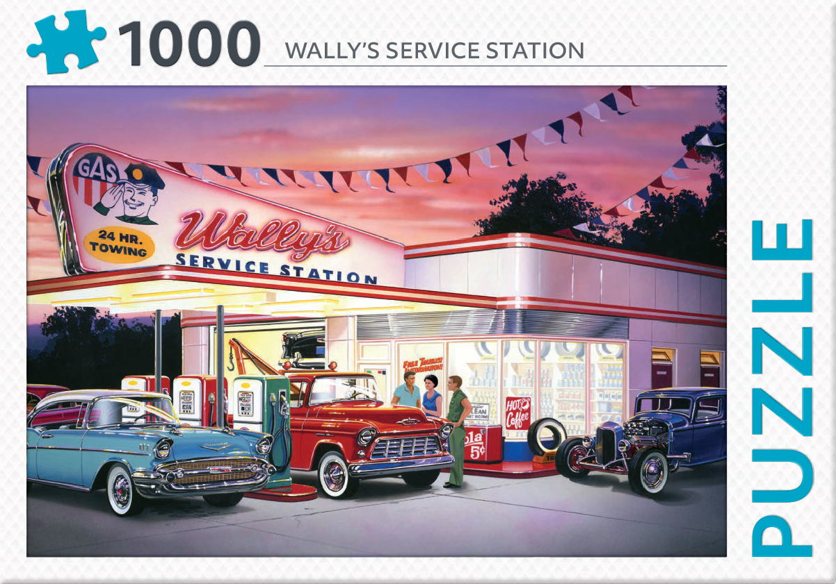 Wally's service - puzzel 1000 st