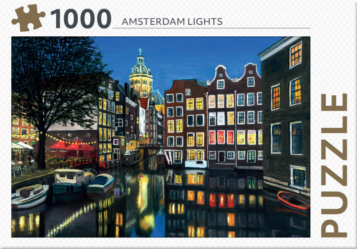 Amsterdam lights - puzzel 1000 st
