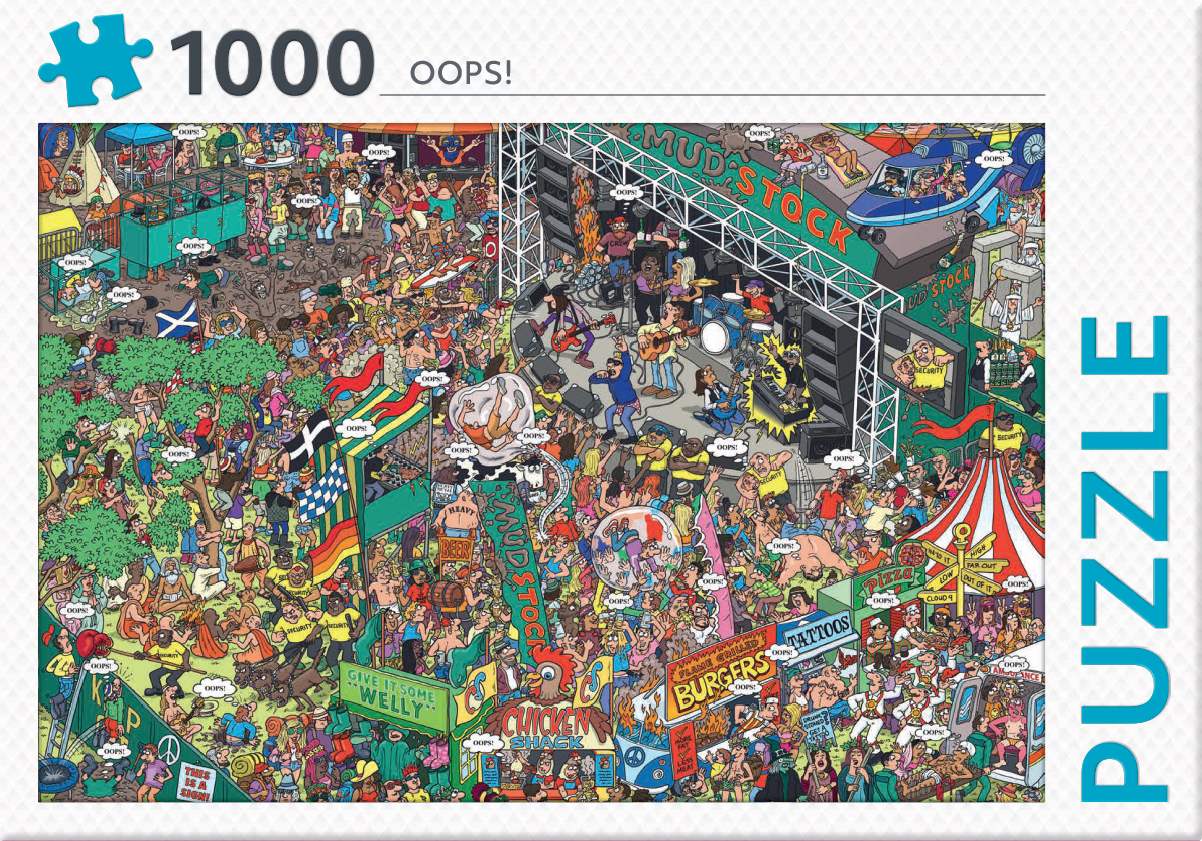 Oops! - puzzel 1000 st
