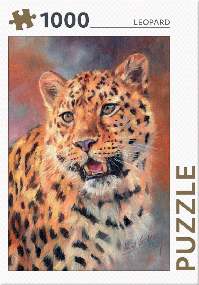 Leopard - puzzel 1000 st