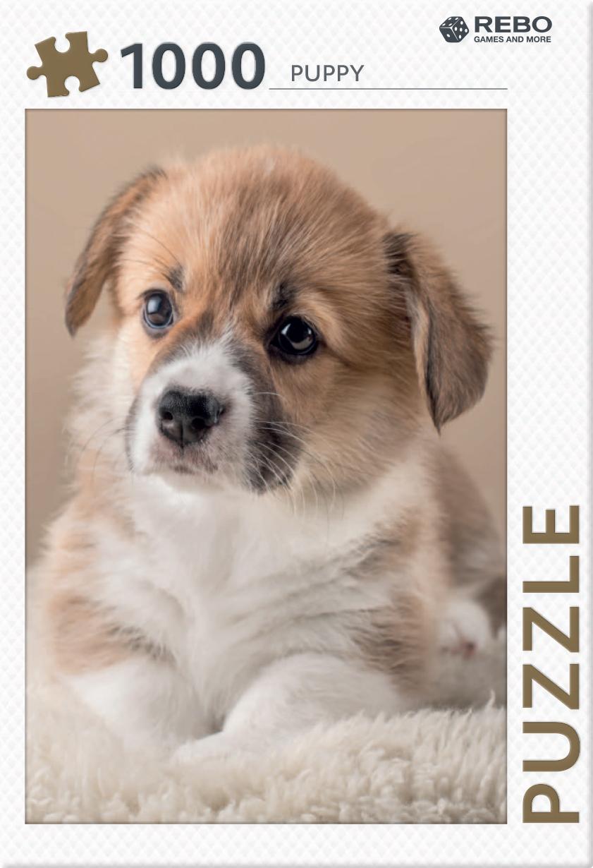 Puppy - puzzel 1000 st