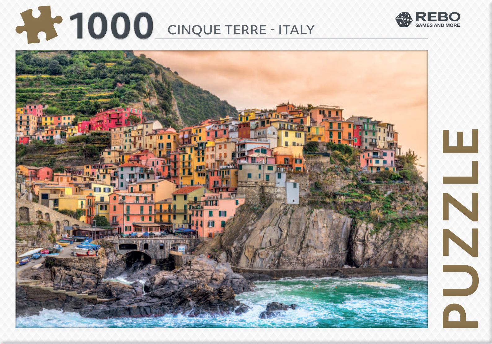 Cinque Terre - Italy - puzzel 1000