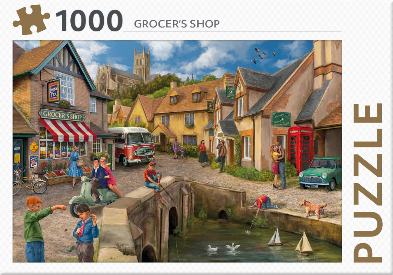 Grocers Shop - puzzel 1000 st