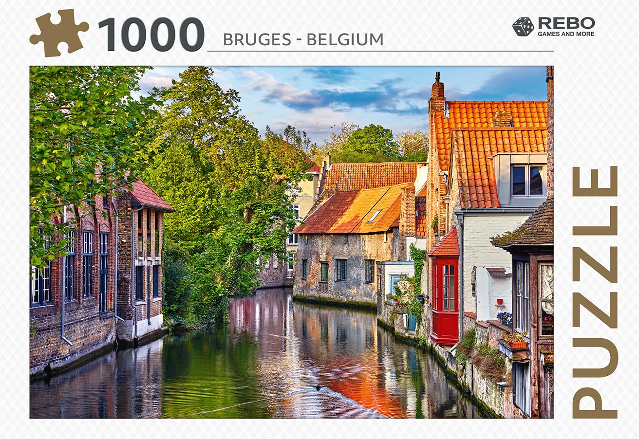 Bruges - Belgium - puzzel 1000 st