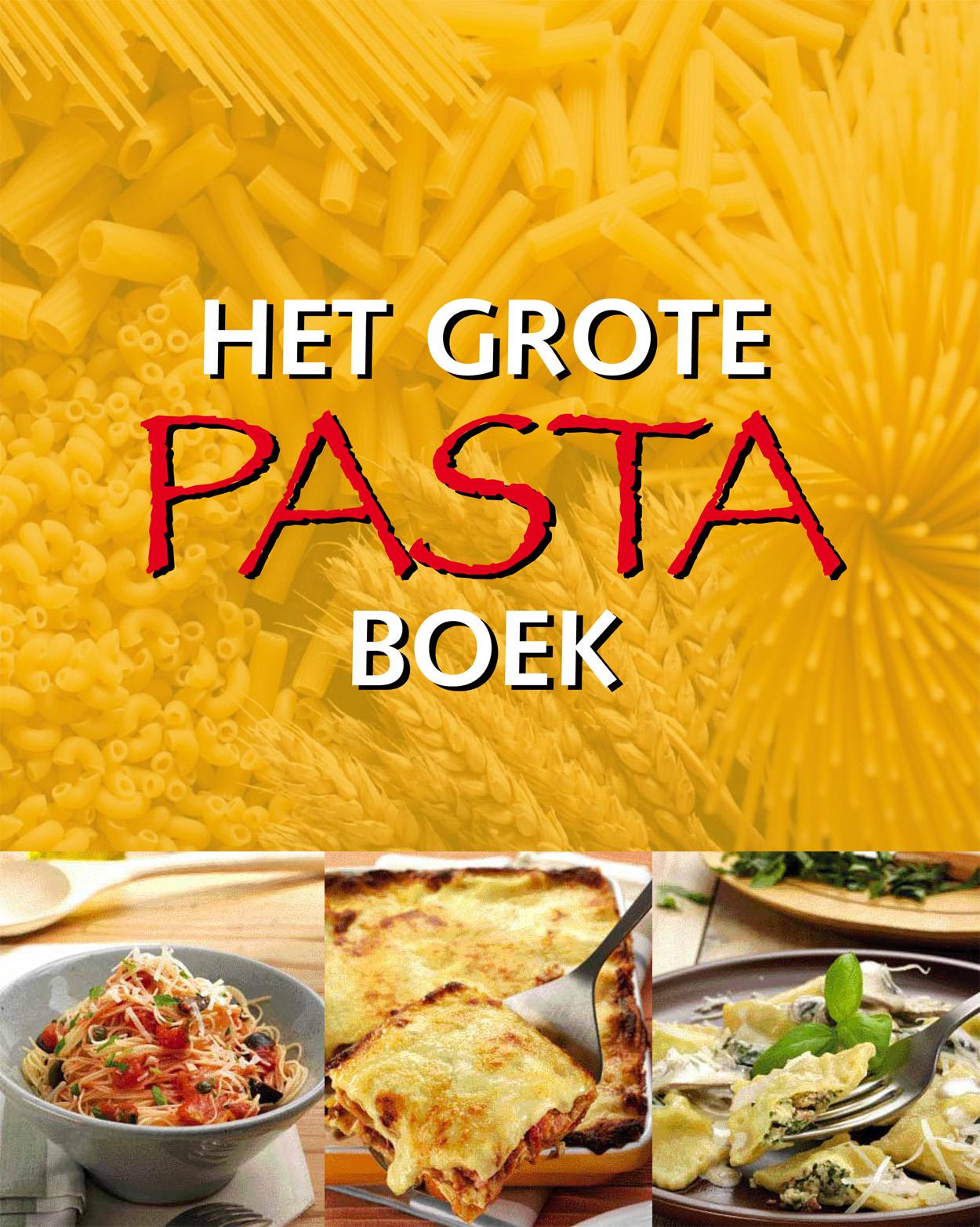 Grote pasta boek