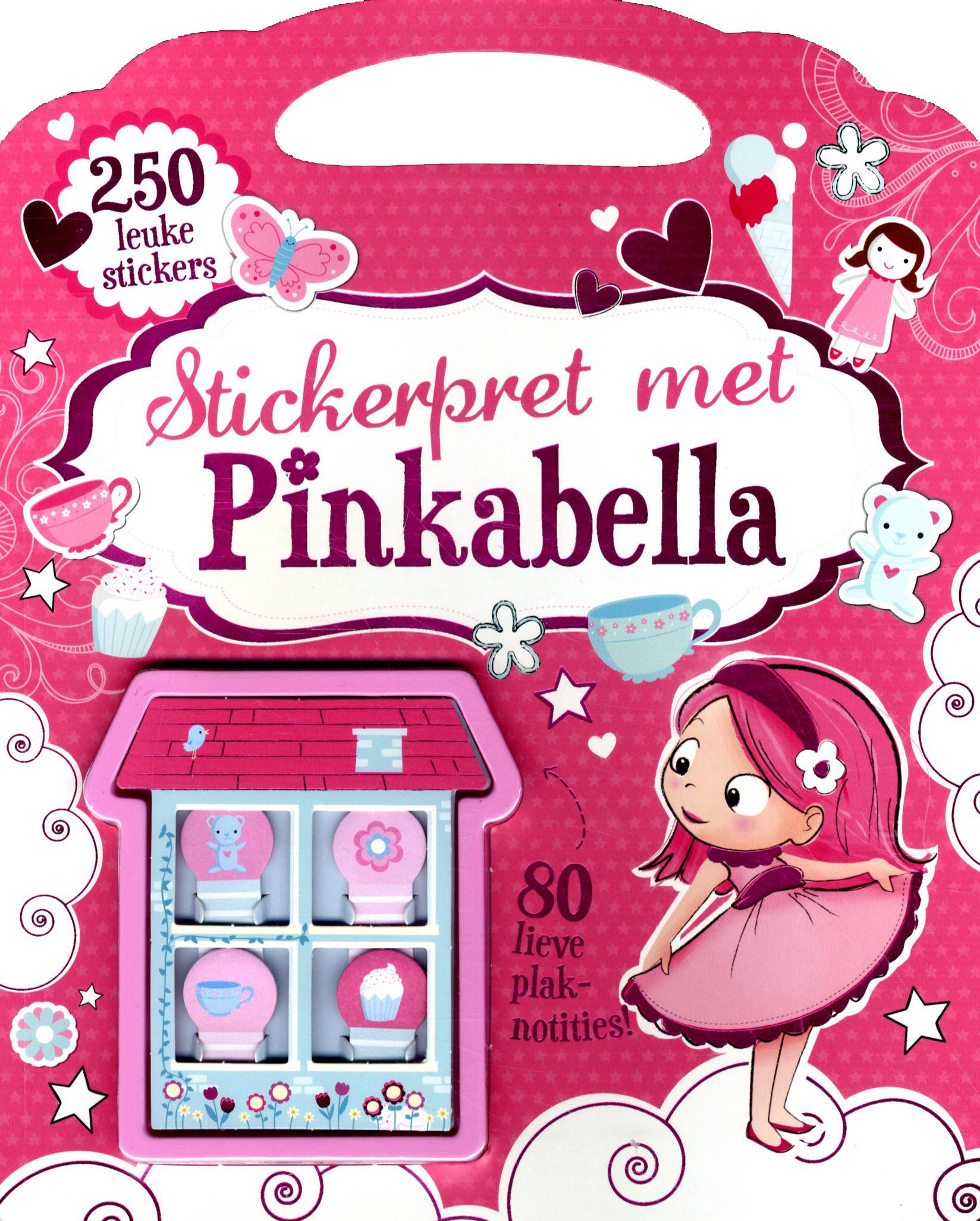 Pinkabella Stickerpret