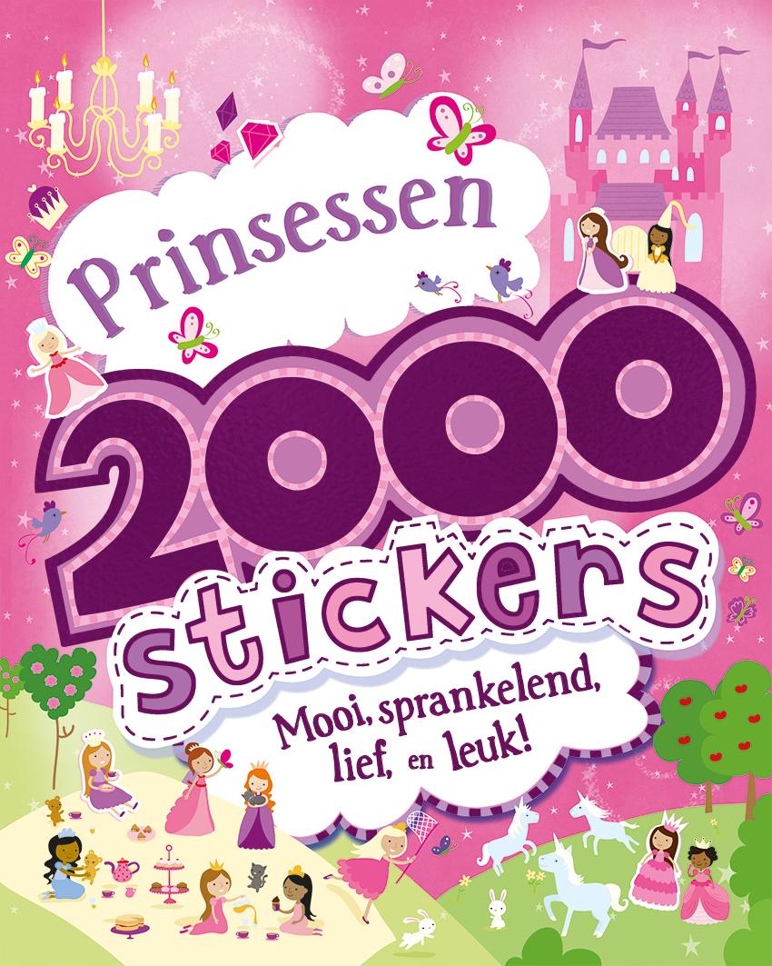 2000 stickers Prinsessen
