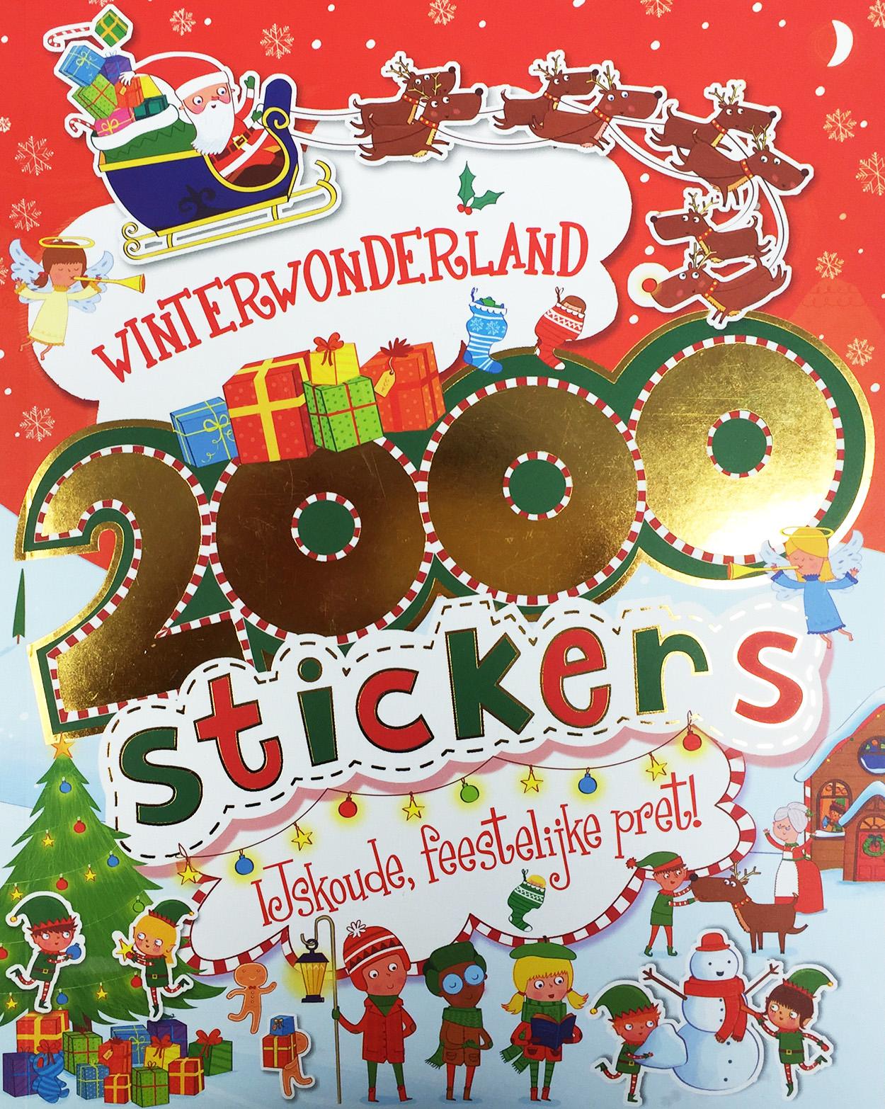 2000 stickers winterwonderland