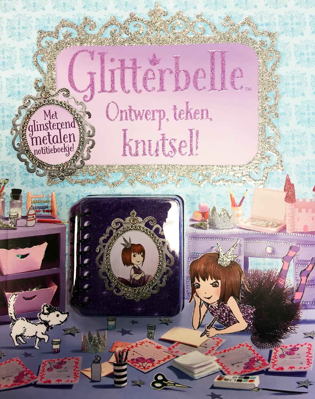 Glitterbelle Ontwerp,teken,knutsel